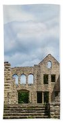 Ha Ha Tonka Castle Panorama Beach Towel