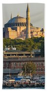 Hagia Sophia On The Bosphorus  Beach Towel