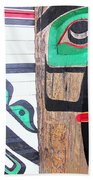 Haida One Beach Towel