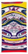 Haida Three Beach Towel