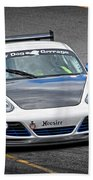 Hairy Dog Garrrage - Porsche - Pit Lane Beach Towel