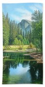 Half Dome Beach Towel