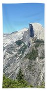 Half Dome From Inspiration Point Beach Towel
