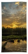 Haliburton Sunrise Beach Towel