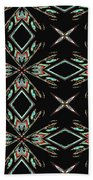 Hall Of Mirrors In Abstract Beach Towel
