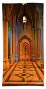 Hall Of The Cathedral Beach Towel