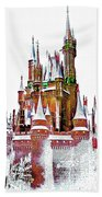Hall Of The Snow King  Beach Towel