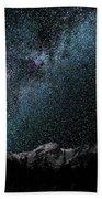 Hallet Peak - Milky Way Beach Towel