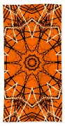 Halloween Kaleidoscope 12 Beach Towel