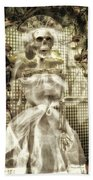 Halloween Mrs Bones The Bride Vertical Beach Sheet