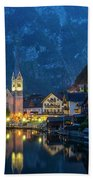 Hallstat Village Beach Towel