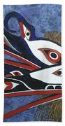 Hamatsa Masks Beach Towel