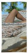 Hammock Heaven Beach Towel