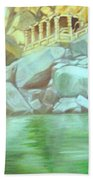 Hampi On Tungabadra 2 Beach Towel