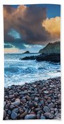 Hana Bay Pebble Beach Beach Towel