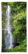 Hana Waterfall Beach Towel
