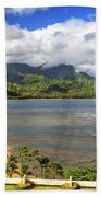 Hanalei Bay Beach Towel