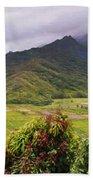 Hanalei Valley Panorama Beach Sheet