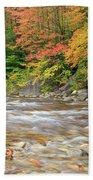 Hancock Branch - White Mountains New Hampshire  Beach Sheet