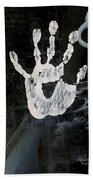 Hand In Window Picacho Arizona 2004 Beach Towel