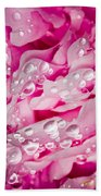 Hanging Droplets Beach Towel