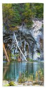 Hanging Lake  Beach Towel