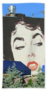 Hanging Out With Elizabeth Taylor Beach Towel