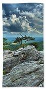 Hanging Rock Overlook Beach Towel