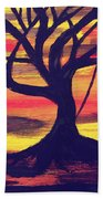 Hanging Tree Beach Towel
