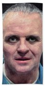 Hannibal Lecter Beach Towel