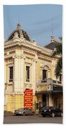 Hanoi Opera House 02 Beach Towel