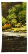 Lewis River Lagoon Beach Towel