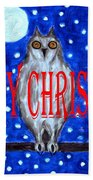 Happy Christmas 94 Beach Towel by Patrick J Murphy