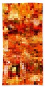 Happy Colors Abstract Beach Towel