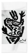 Happy Dance Beach Towel