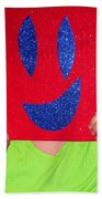 Happy Face Beach Towel