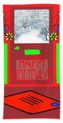 Happy Holidays 98 Beach Towel