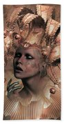 Happy Times Times From Yesterday Beach Towel