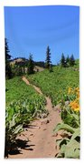 Happy Trails Beach Towel