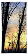 Happy Trails Sunset Beach Towel