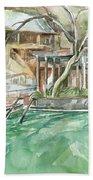 Harbin Hotsprings Pool Beach Towel