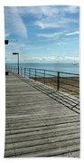 Harbor Beach Lake Huron Michigan Beach Towel