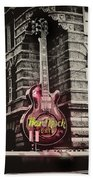 Hard Rock Philly Beach Towel