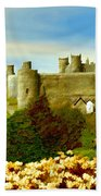 Harlech Castle Beach Towel