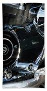 Harley Davidson 17 Beach Towel