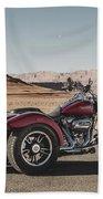 Harley-davidson Freewheeler Beach Towel