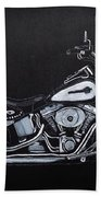 Harley Davidson Snap-on Beach Towel