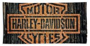 Harley - Davidson Beach Towel