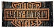 Harley - Davidson Beach Sheet