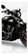 Harley Davidson Vrscd Night Rod Special  Beach Towel